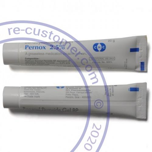 Benzoyl gel Benzoyl Peroxide 5% 20g